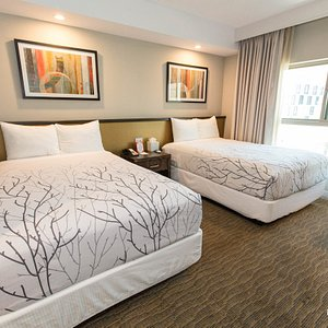 The Standard Double Room with Two Beds at the Hotel Aventura