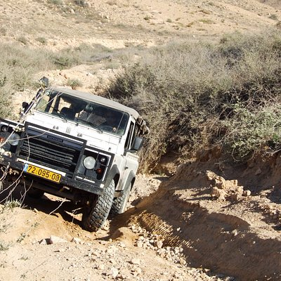 Another day in the office with my Land Rover Defender.