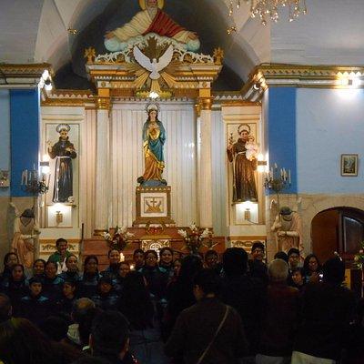 Presentación del Coro Nacional de Niños en la Iglesia Espíritu Santo en Tacna