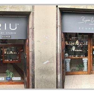 ARIU Quito Colonial. La joyeria  cuenta una historia-cada pieza es una obra de arte.