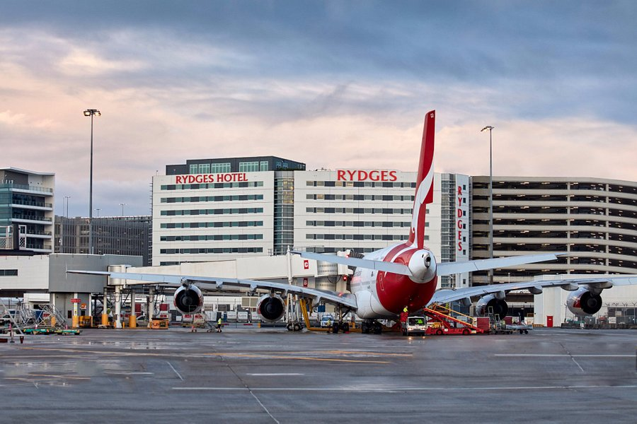 Airport Sydney Ankunft