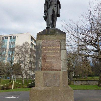 James Edward Fitzgerald Statue