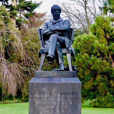William Sefton Moorhouse Statue
