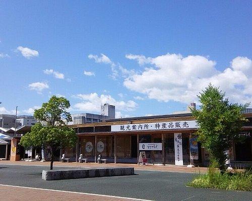 高知駅 南口からから見える「こうち旅広場」