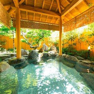 Open Air Public Onsen(Woman) 女人公共露天温泉浴池