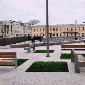 Фрагмент стены Белого города