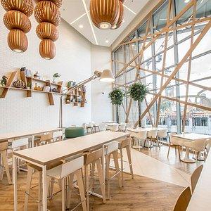 Madison Food Zone - strefa food court - Madison Centrum Handlowe Gdańsk