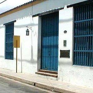Entrada principal de la Casa Natal de Calixto García