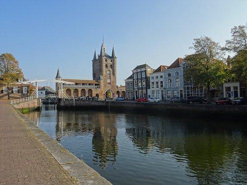 Rijksmonument Zuidhavenpoort Zierikzee uit de jaren 1500-1774