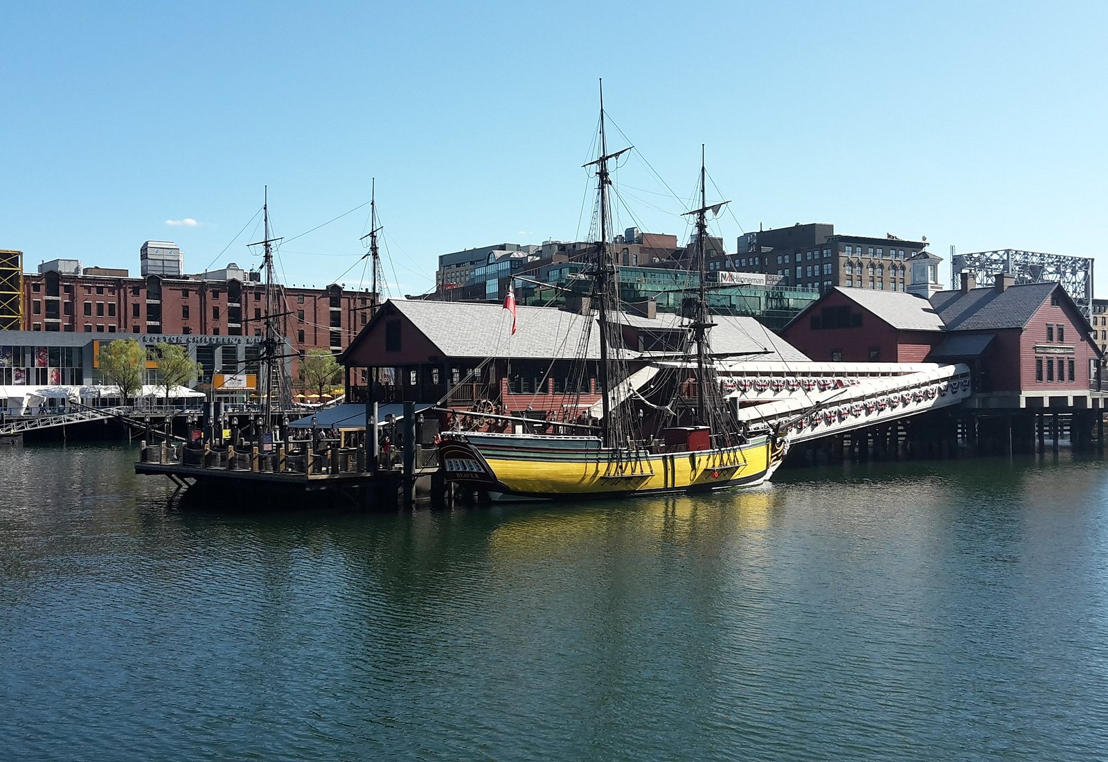 Boston Tea Party, Harborwalk