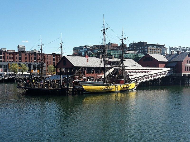 Boston Tea Party, Harborwalk