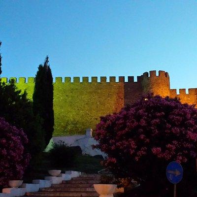 Anoitecer no castelo