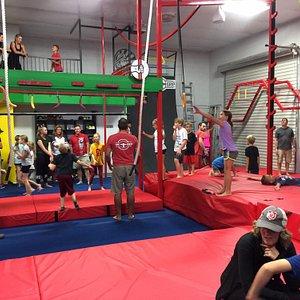The Grip ninja warrior obstacles
