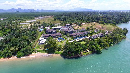 The ShellSea Krabi, a luxury boutique resort on Fossil Shell Beach, Krabi , Thailand