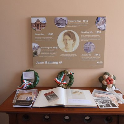 Some of the items relating to Jane Haining's Life