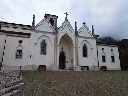 The Church Santo Spirito in Ospedaletto, Gemona