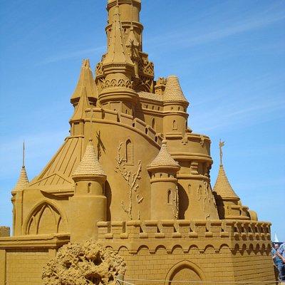 Zandsculpturenfestival 2017 Zeeheldenplein Oostende