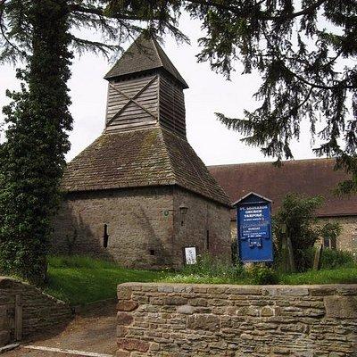 Yarpole bell tower - 12th century