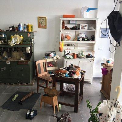 Showroom, Werkstatt
