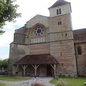 Église Saint-Jean-Baptiste, Sorde-l'Abbaye (Landes, Nouvelle-Aquitaine), France.
