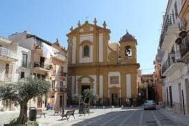 facciata della chiesa di santa maria ss