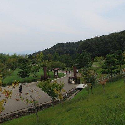 東三河ふるさと公園の散策通路