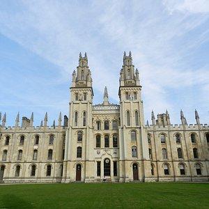 All Souls College Quad, Oxford University