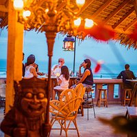 Ji Terrace by The Sea- Alfresco casual dining/lounge under the stars