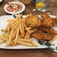 Great Chicken Tenders at the Front Porch Cafe at Dollywood