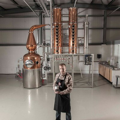 Shortcross Gin small batch distillery -