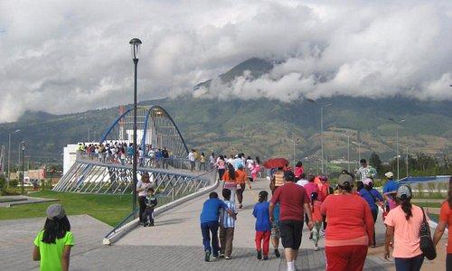 Parque Bulevar Centrica or also known as Parque Cuidad Blanca
