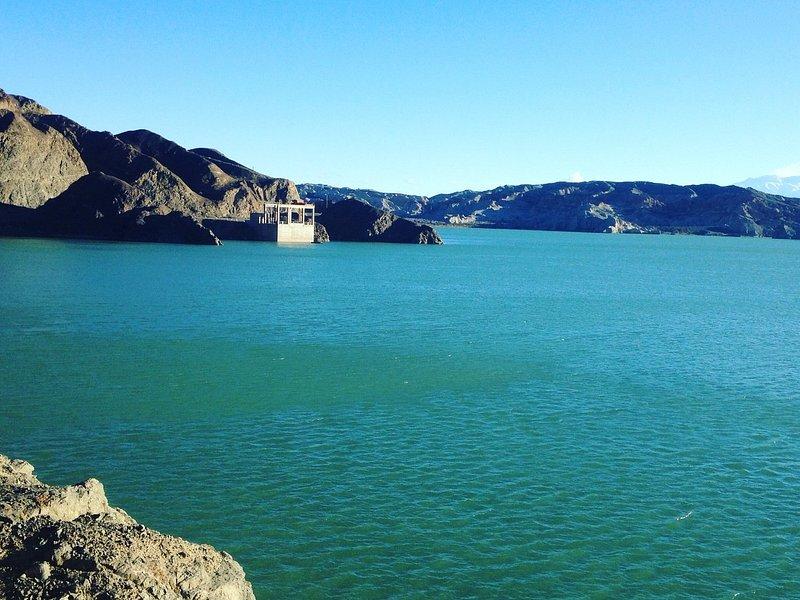 Lago Cuesta del Viento, Dpto Jáchal, San Juan, Arg.