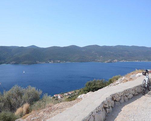 Widok na Adriatyk i Korculę