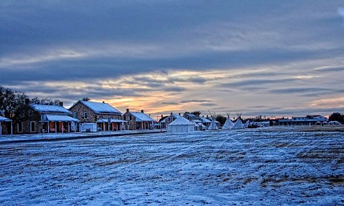 Fort Concho winter during Christmas At Old Fort Concho celebration/festival