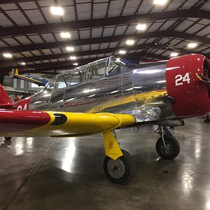 One of the many excellent planes at the Midland Army Air Field Museum