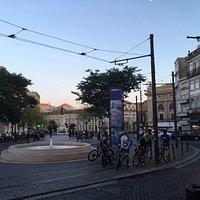 A praça é de todos, inclusive dos ciclistas !!