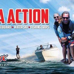 Sea action in helsinki