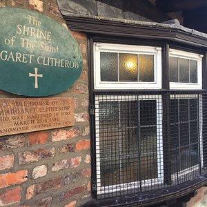 Margaret Clitherow Shrine