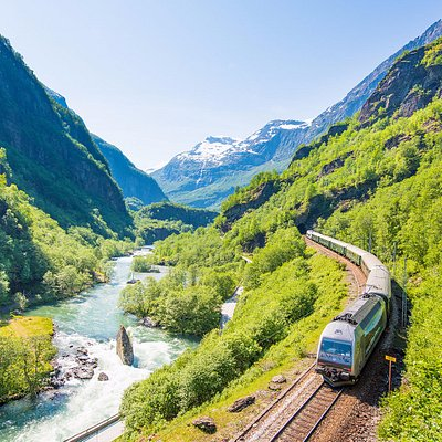 The Flam Railway offers you scenic views