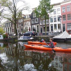 Zeebaard Kayak Tours Amsterdam