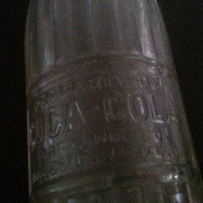 1910 Coca-Cola bottle #1