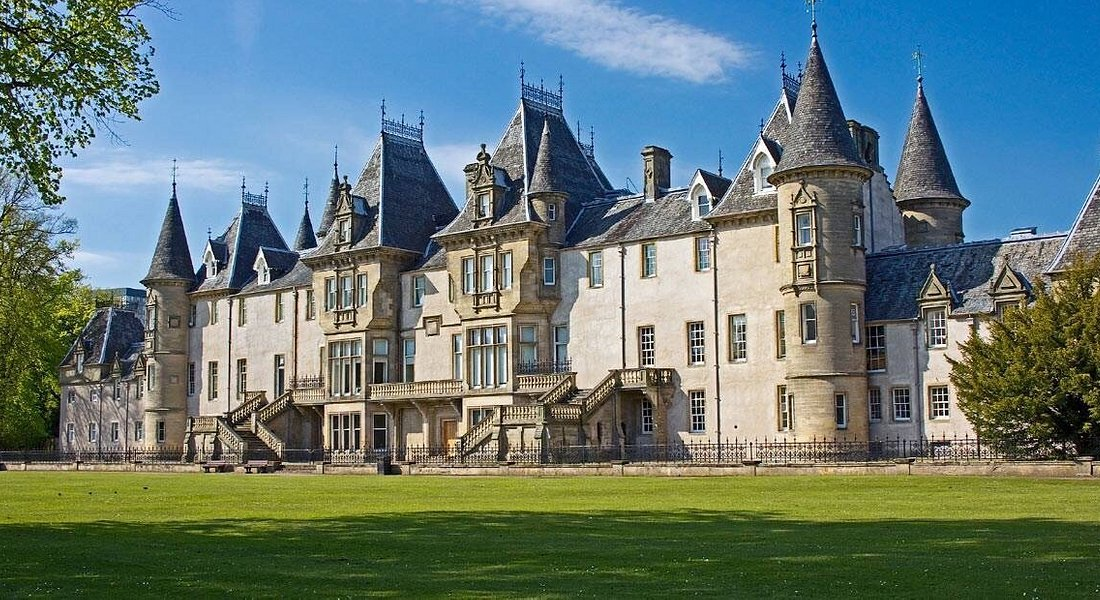 Callendar House Falkirk, well worth a visit to the French Chateau style house. Free entry.