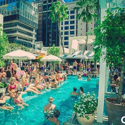 Mardi Gras Summer Pool Party
