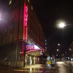Bio Sture, Birger Jarlsgatan, Stockholm.
