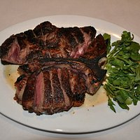 Our 29 Day Wet Aged 45 oz. Certified Angus Beef Porterhouse for Two.