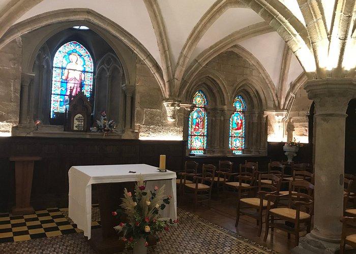 Salle capitulaire (derniers vestiges du XIIIème siècle)