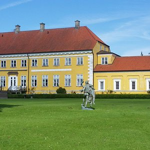 Engestofte is a Neoclassical manor house located island of Lolland