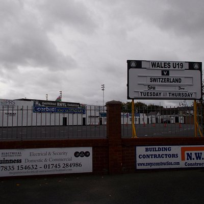 Corbett Sports Stadium, Rhyl