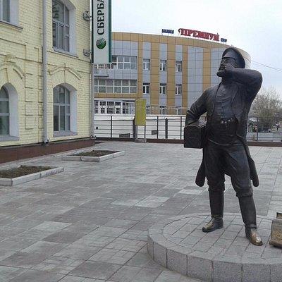Памятник Верхнеудинскому купцу