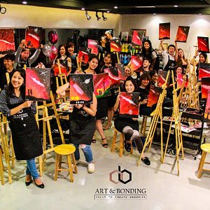 Join our Sip & Paint Night, paint! drink! have fun!